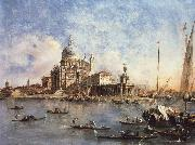 Francesco Guardi Venice The Punta della Dogana with S.Maria della Salute china oil painting reproduction